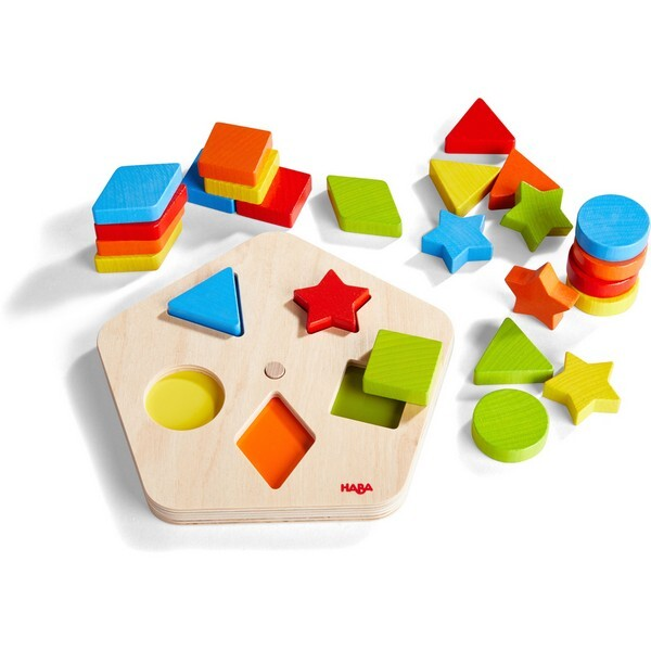 Haba - Carrousel des formes et couleurs - Dès 2 ans