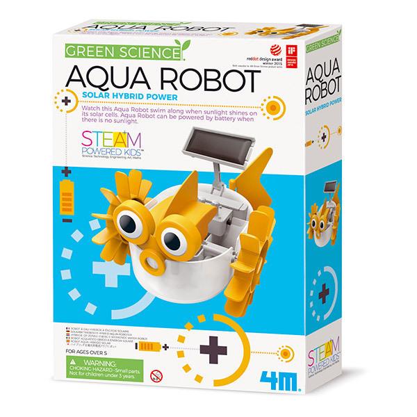 4M - Kit Construction Aqua Robot - Des 5 ans