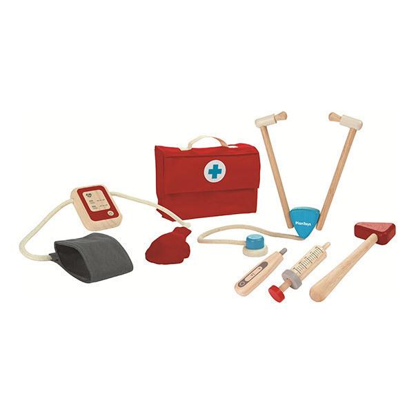 Plan Toys - Ma valise de docteur - Des 3 ans