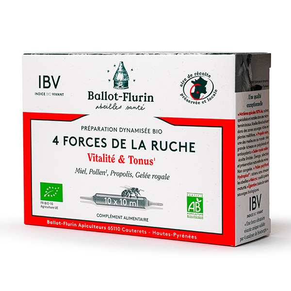 Ballot-Flurin - Préparation Dynamisée 4 Forces de la Ruche Vitalité et Tonus