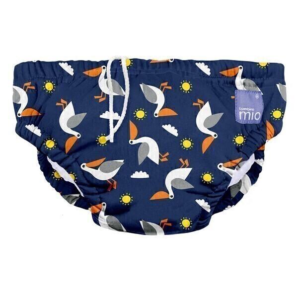 Bambino Mio - Couche de bain lavable Pont du pélican - Taille S (5-7 kg)