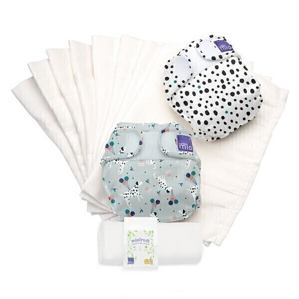 Bambino Mio - Mioduo pack 2 couches lavables tout-en-deux Animaux- 9kg et +