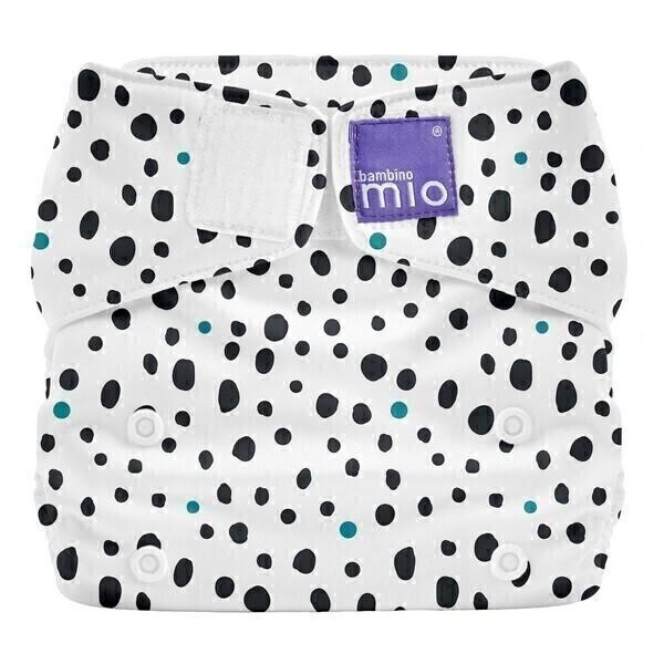 Bambino Mio - Miosolo couche tout-en-un Taches de dalmatien - De 0 à 36 mois