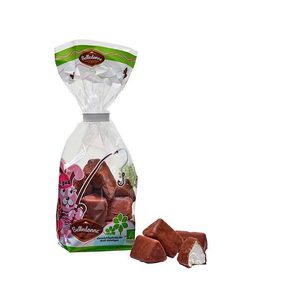 Belledonne - Guimauves enrobées de chocolat au lait 50g
