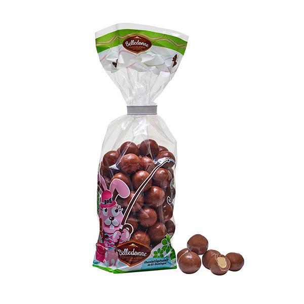 Belledonne - Noisettes enrobées de chocolat au lait 200g