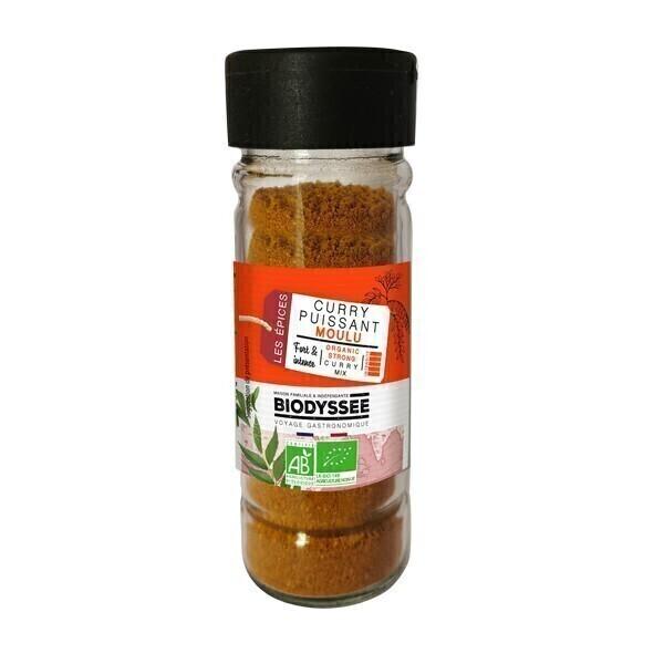 Biodyssée - Curry puissant moulu 30g