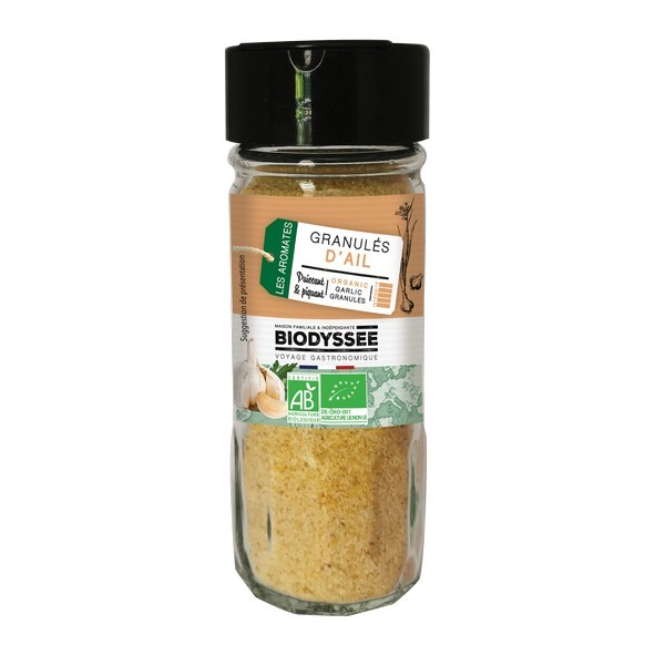 Biodyssée - Granulés d'ail 60g