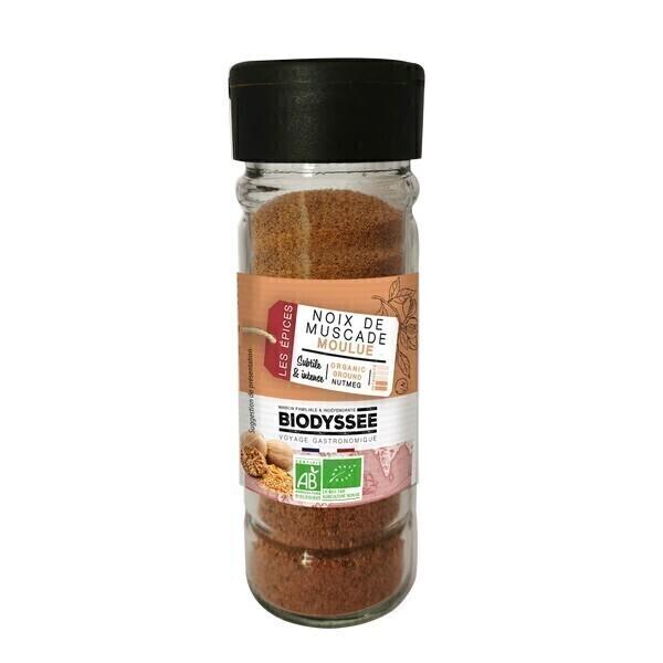 Biodyssée - Noix de muscade moulue 50g