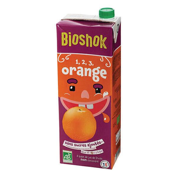 Bioshok - Jus d'orange bio 1,5L