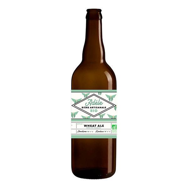 Brasserie Effet Papillon - Bière blanche Adèle 75cl
