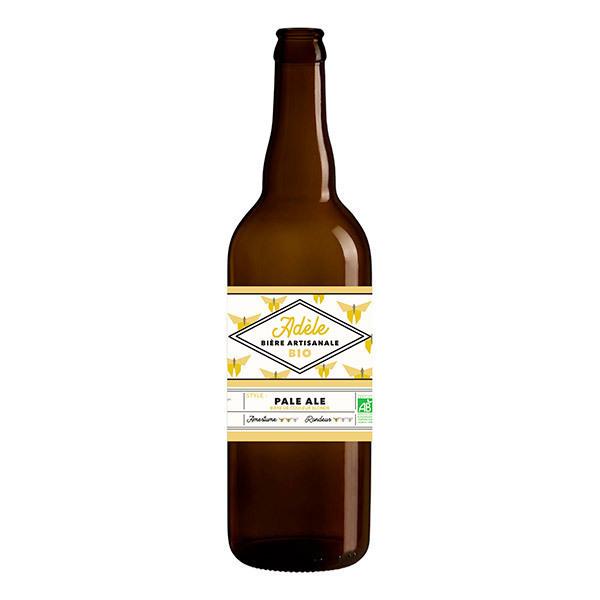 Brasserie Effet Papillon - Bière blonde Adèle 75cl
