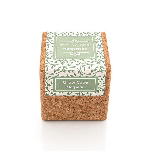 Life in a Bag - Kit de culture aimante Grow Cube basilic