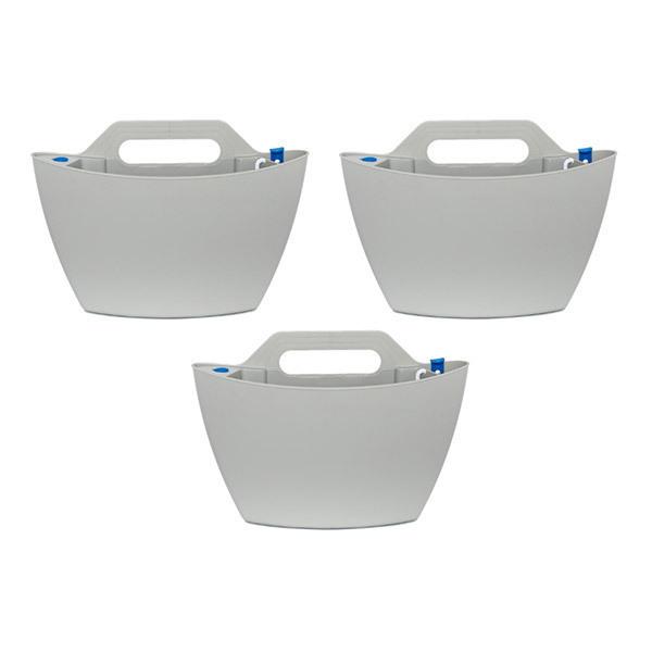 Citysens - 3 pots muraux à arrosage automatique