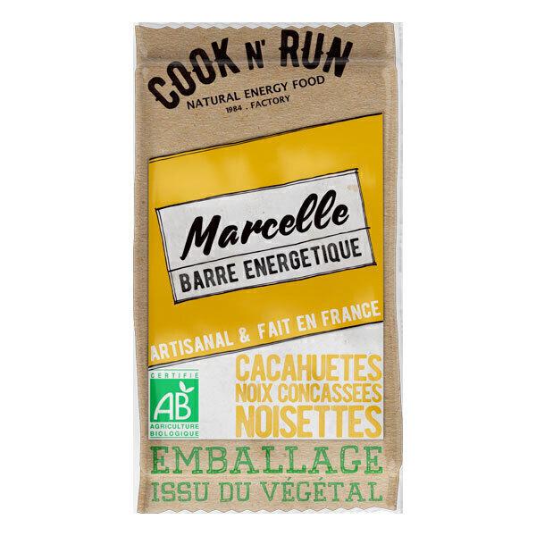 Cook N'Run - Barre énergétique Marcelle noix noisette cacahuète 50g