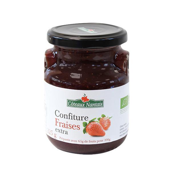 Côteaux Nantais - Confiture fraises extra 325g