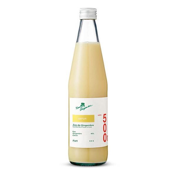 Dame Gingembre - Concentré de jus de gingembre nature Bio 500ml