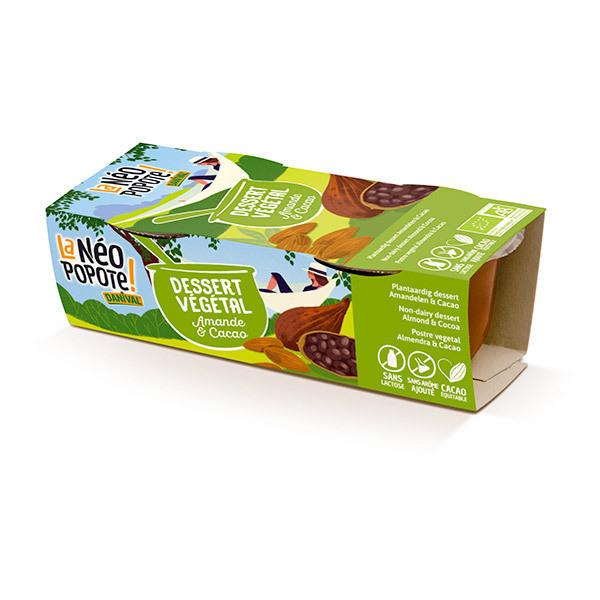 Danival - Dessert végétal amande et cacao 2x100g