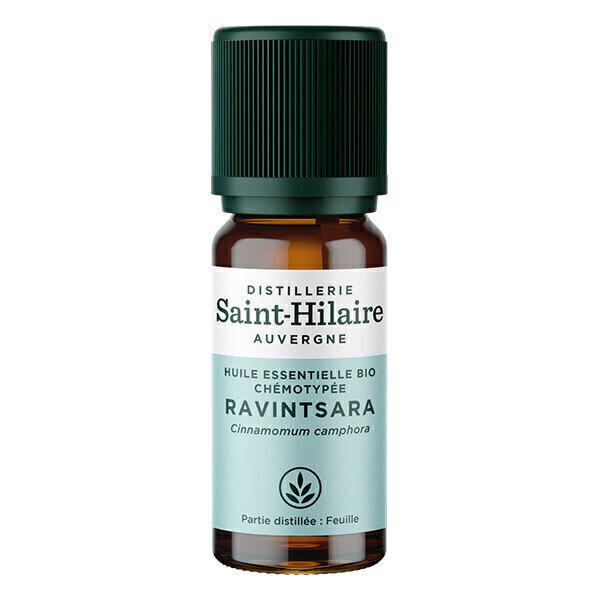Distillerie Saint-Hilaire - Huile essentielle de Ravintsara bio 10ml