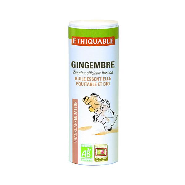 Ethiquable - Huile essentielle de Gingembre bio 10ml