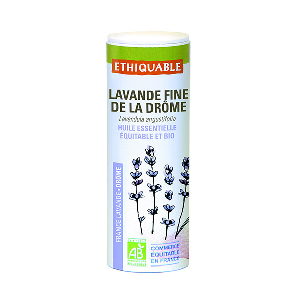 Ethiquable - Huile essentielle de Lavande fine bio 10ml