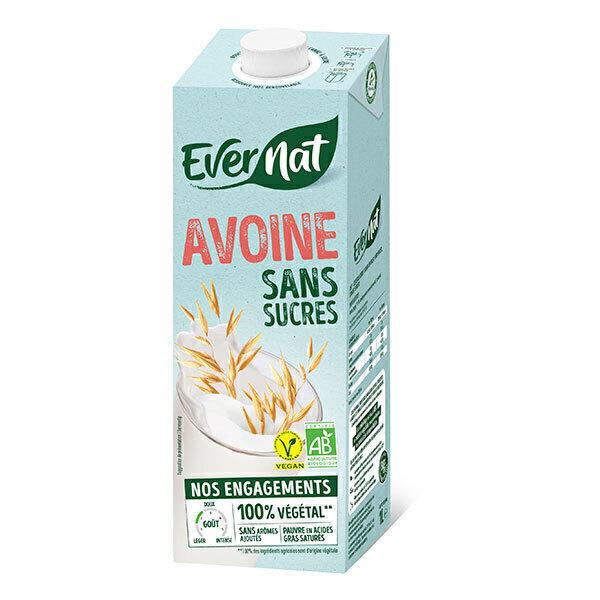 Evernat - Douceur avoine sans sucres 1L