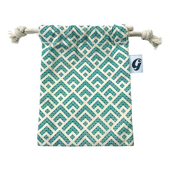 Gaspajoe - Pochette en coton bio pour 4 à 8 glaçons