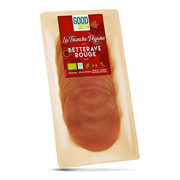 Good & Green - Tranches véganes à la Betterave rouge 90g