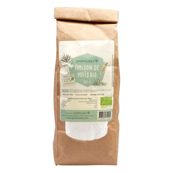Greenweez - Amidon de maïs sans gluten Bio 500g