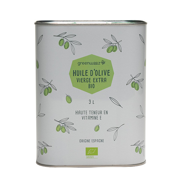 Greenweez - Huile d'olive vierge extra bio 3L