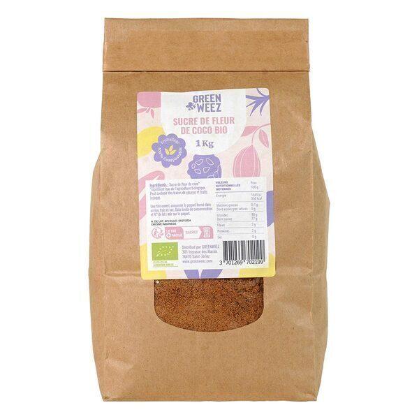 Greenweez - Sucre de fleur de coco Bio 1kg