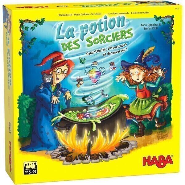 Haba - La potion des sorciers - Dès 5 ans