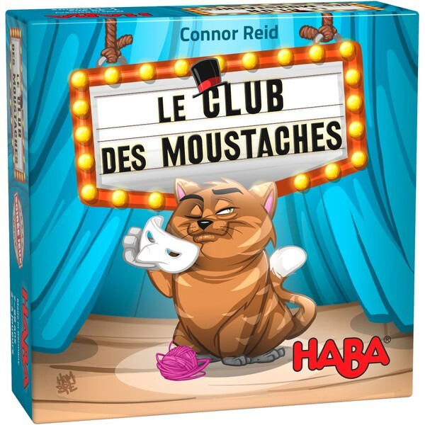 Haba - Le club des moustaches - Dès 7 ans