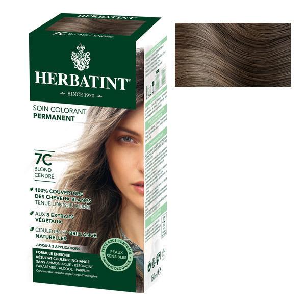 Herbatint - Soin colorant permanent naturel 7C Blond cendré 150ml