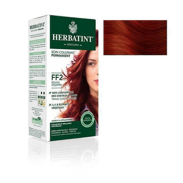Herbatint - Soin colorant permanent naturel FF2 Rouge pourpre 150ml