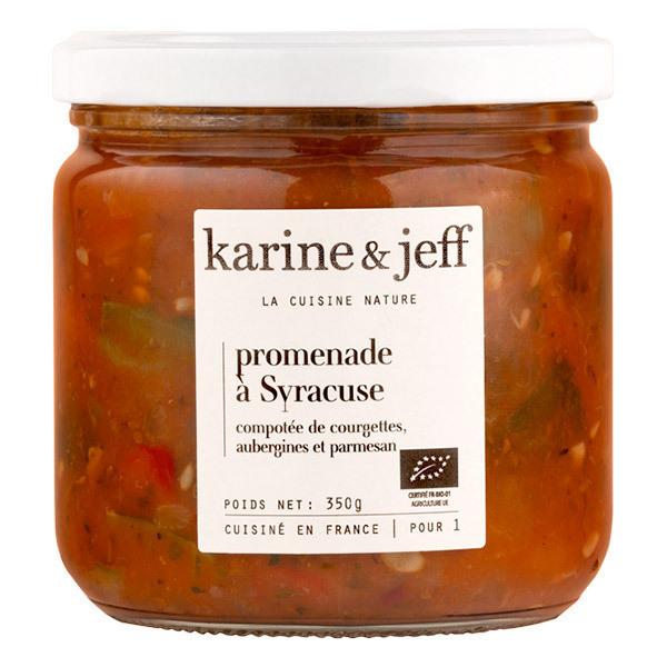 Karine & Jeff - Compotée de courgettes, aubergines et parmesan 350g