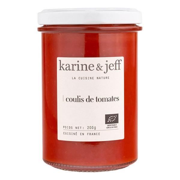 Karine & Jeff - Coulis de tomates 200g