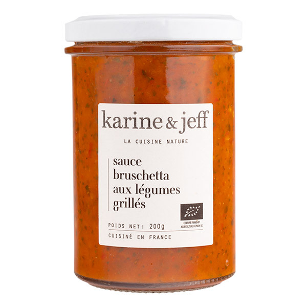 Karine & Jeff - Sauce bruschetta aux légumes grillés 200g