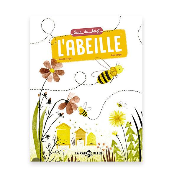 """La Cabane Bleue - Livre """"Suis du doigt l'abeille"""" - Dès 3 ans"""