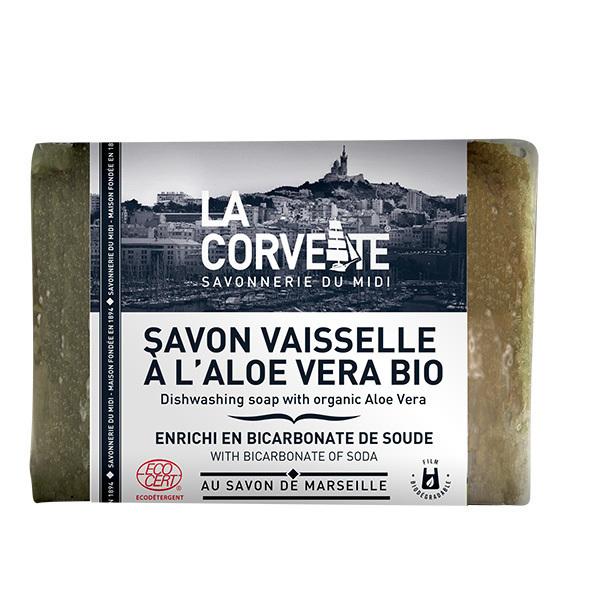 La Corvette - Savon vaisselle au Bicarbonate de soude et Aloe Vera 200g