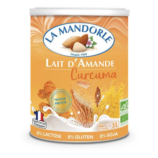 La Mandorle - Lait d'amande curcuma 400g