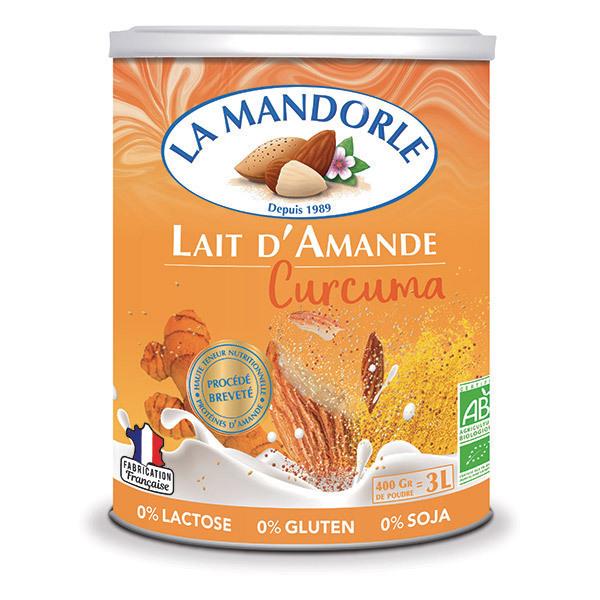 La Mandorle - Lait d'amande au curcuma en poudre 400g