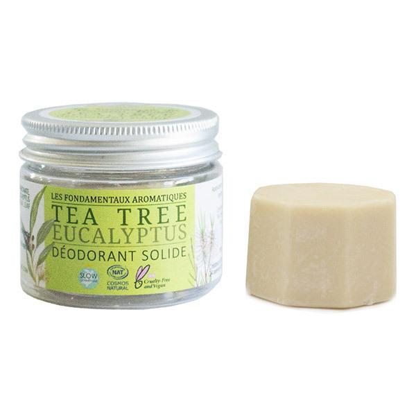 La Savonnerie du Nouveau Monde - Déodorant solide eucalyptus et tea tree 30g