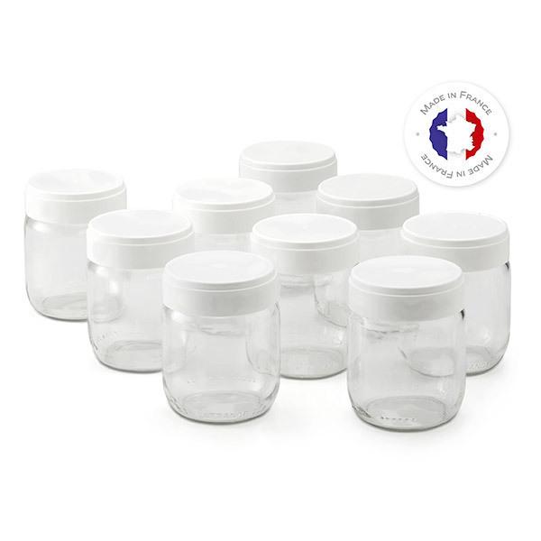 Lagrange - Lot de 9 pots pour yaourtière Ligne