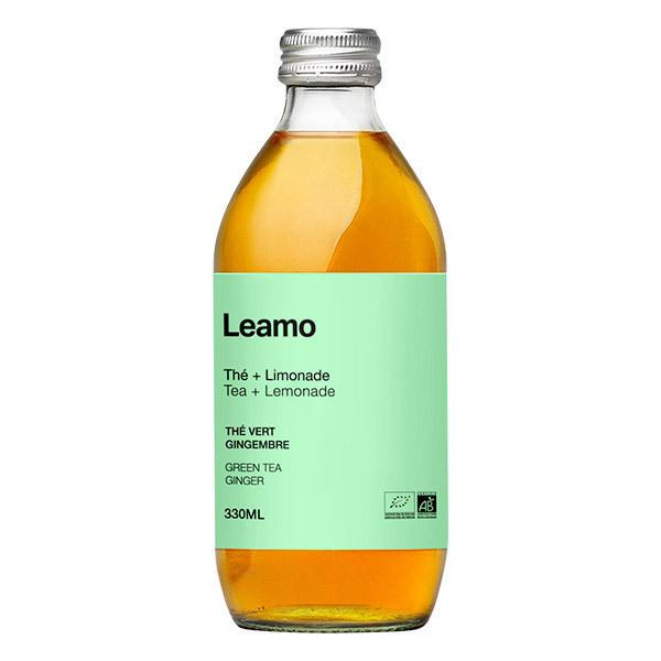 LEAMO - Soda thé vert gingembre bio 33cl