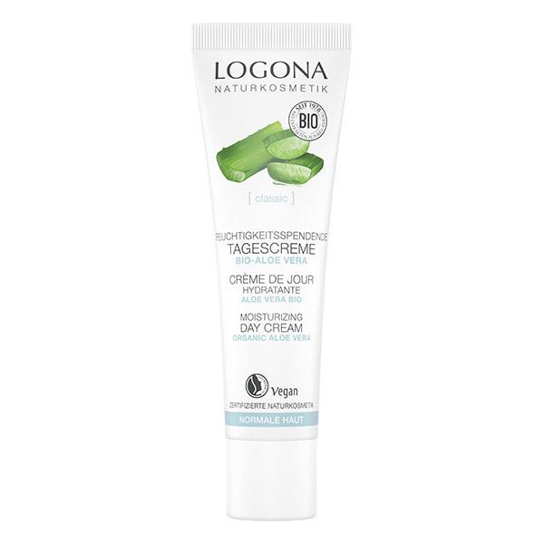 Logona - Crème de jour hydratante à l'aloe vera 30ml