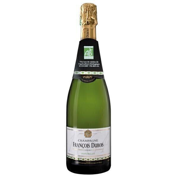 Maison François Dubois - Cuvée naturelle AOP Champagne - Extra brut 75cl