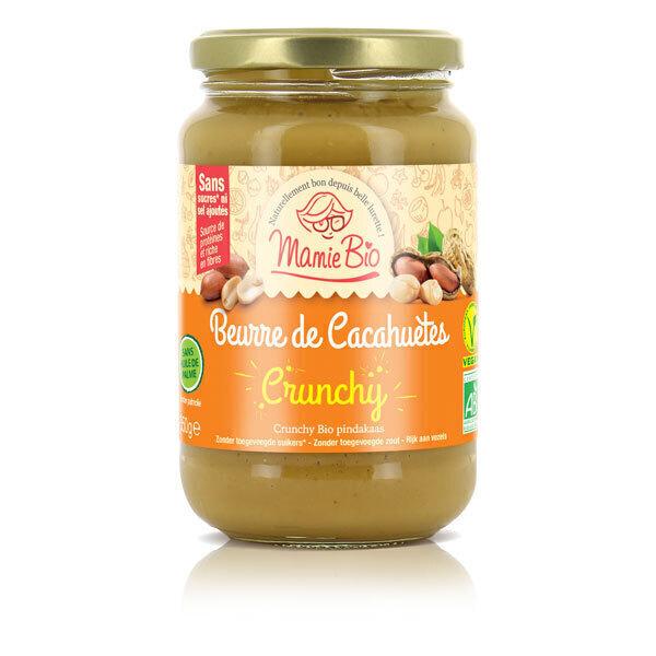 Mamie Bio - Beurre de cacahuète crunchy 350g