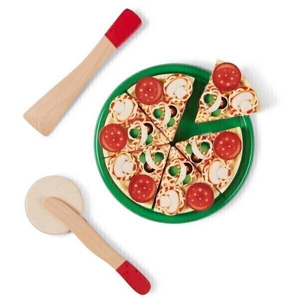 Melissa & Doug - Pizza en bois - Dès 3 ans