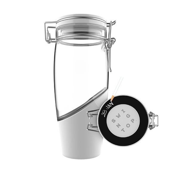 Mortier Pilon - Bouteille à bouchon mécanique