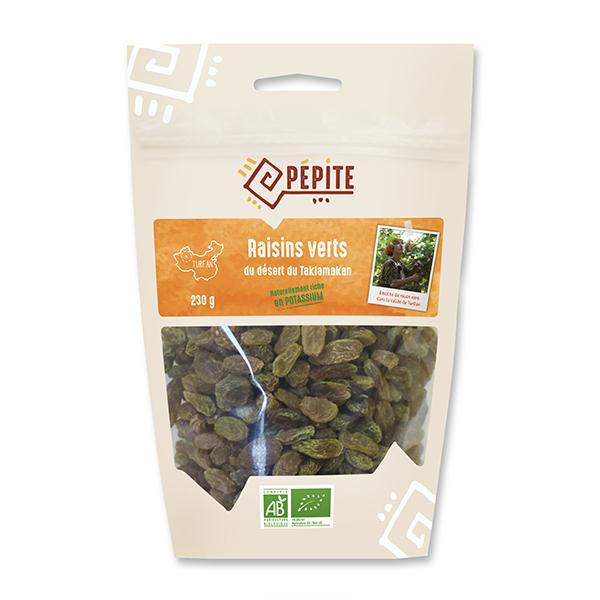 Pépite - Raisins verts du Taklamakan 230g